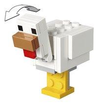 LEGO Minecraft 21149 BigFig Alex met kip-Artikeldetail