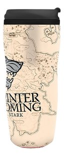 Travel Mug Game of Thrones Winter is Coming-Rechterzijde