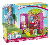 Barbie set de jeu La cabane de Chelsea-Côté gauche