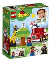 LEGO DUPLO 10901 Brandweertruck-Achteraanzicht