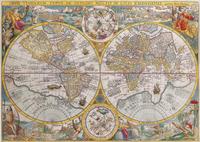 Ravensburger puzzle Carte du monde, 1594