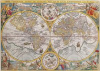 Ravensburger puzzel Wereldkaart 1594