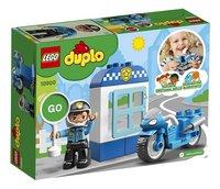 LEGO DUPLO 10900 Politiemotor-Achteraanzicht