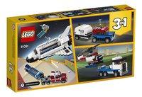 LEGO Creator 3-in-1 31091 Spaceshuttle transport-Achteraanzicht