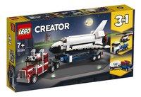 LEGO Creator 3-in-1 31091 Spaceshuttle transport-Linkerzijde