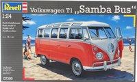 Revell Volkswagen T1 Samba Bus-Vooraanzicht