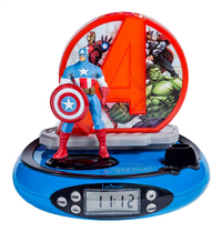 Lexibook radio-réveil avec projection Avengers Captain America