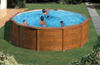 Gre piscine Pacific diamètre 4,60 m