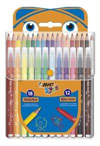 Bic Kids set de coloriage - 30 pièces-Avant