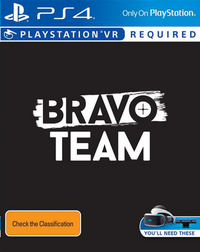 PS4 Bravo Team VR ENG/FR