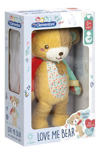 Clementoni muzikale knuffel Love Me Bear 32 cm-Linkerzijde