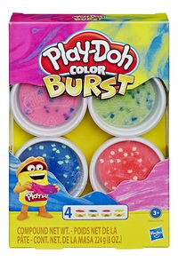 Play-Doh Color Burst 4 pots - rose-Avant