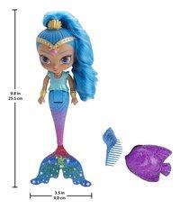 Fisher-Price figurine Shimmer & Shine Rainbow Mermaid - Shine-Détail de l'article