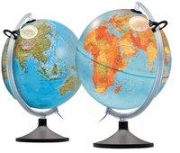 Wereldbol geografisch