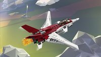 LEGO Creator 3-in-1 31086 Futuristisch vliegtuig-Afbeelding 1