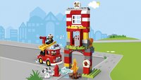 LEGO DUPLO 10903 Brandweerkazerne-Afbeelding 1