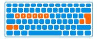 Trust toetsenbord GXT 830-RW Avonn-Artikeldetail