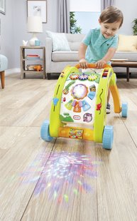 Little Tikes table d'activités Chasin' Lights Walker 3 en 1-Image 1