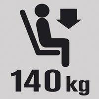 Lafuma Voetenbank Next Air Comfort acier-Afbeelding 2