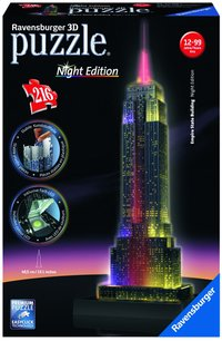 Ravensburger puzzle 3D Night Edition Empire State Building