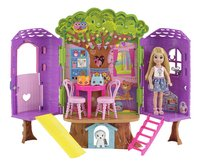 Barbie speelset Chelsea's Boomhut-Vooraanzicht