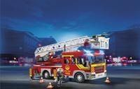 PLAYMOBIL City Action 5362 Camion de pompier avec échelle pivotante et sirène-Image 1