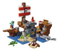 LEGO Minecraft 21152 Avontuur op het piratenschip-Vooraanzicht