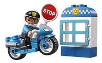 LEGO DUPLO 10900 Politiemotor-Vooraanzicht