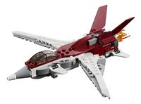 LEGO Creator 3-in-1 31086 Futuristisch vliegtuig-Vooraanzicht