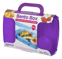 Sistema lunchbox Bento Box paars-Rechterzijde
