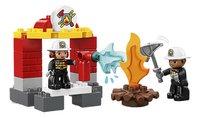 LEGO DUPLO 10903 Brandweerkazerne-Vooraanzicht