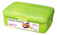 Sistema lunchbox Slimline Quaddie groen-Rechterzijde