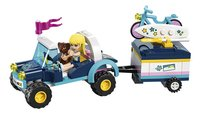 LEGO Friends 41364 Stephanie's buggy en aanhanger-Vooraanzicht
