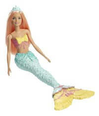 Barbie poupée mannequin  Dreamtopia Sirène avec queue verte-Côté gauche