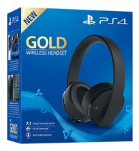 PS4 draadloze headset Gold Edition-Linkerzijde