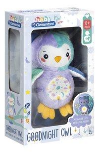 baby Clementoni muzikale knuffel Goodnight Owl-Linkerzijde
