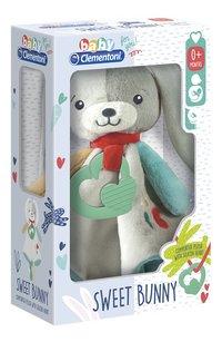 baby Clementoni doudou Sweet Bunny 29 cm-Linkerzijde