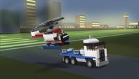 LEGO Creator 3-in-1 31091 Spaceshuttle transport-Afbeelding 2