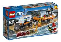 LEGO City 60165 L'unité d'intervention en 4x4