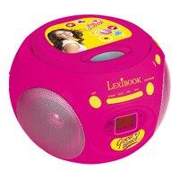 Lexibook draagbare radio/cd-speler Disney Soy Luna