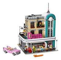 LEGO Creator Expert 10260 Diner in de stad-Vooraanzicht