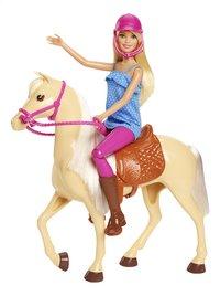 Barbie speelset Barbie met paard-commercieel beeld