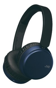 JVC Bluetooth hoofdtelefoon HA-S65BN blauw-Vooraanzicht