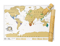 Scratch Map wereldkaart-Afbeelding 2