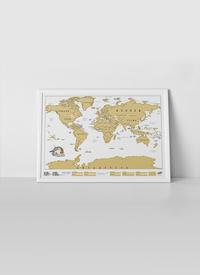 Scratch Map wereldkaart-Afbeelding 4