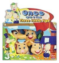 Set de 4 marionnettes Les Trois Petits Cochons
