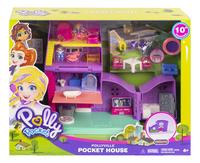 Polly Pocket speelset Polyville huis-Vooraanzicht