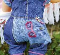 BABY born kledijset Deluxe Jeans collection Overall-Afbeelding 1
