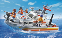 Playmobil City Action 5540 Brand-reddingsboot-Afbeelding 1