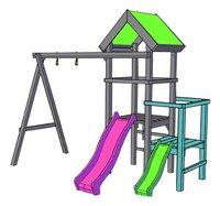 BnB Wood toren Uitbreiding voor Little Eden-product 3d drawing